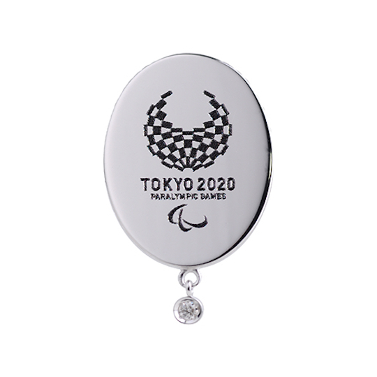 Tokyo 2020 Olympics and Paralympics Silver Diamond Pins