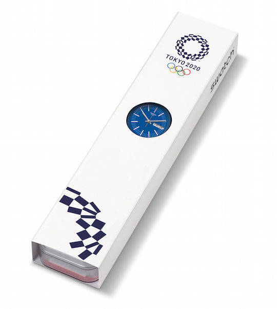 Tokyo 2020 Olympics Swatch Watch Blue