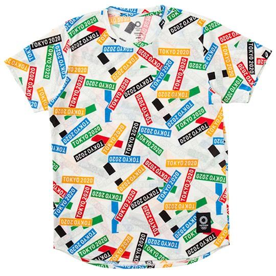Tokyo 2020 Olympics Asics Multi Crossing Children's T-shirt