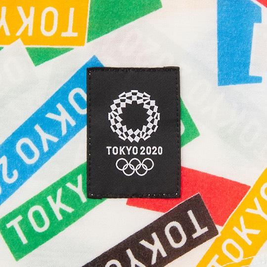 Tokyo 2020 Olympics Asics Multi Crossing Childrens T-shirt