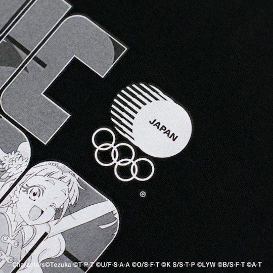 Tokyo 2020 Olympic Games Anime Characters T-shirt
