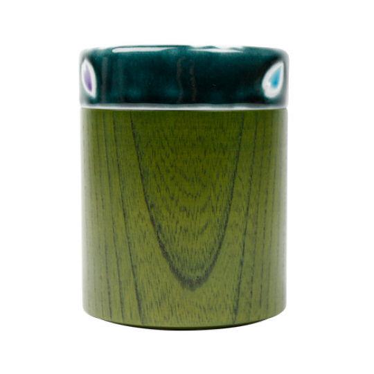 Tokyo 2020 Olympics Kutani Ceramic Tea Canister