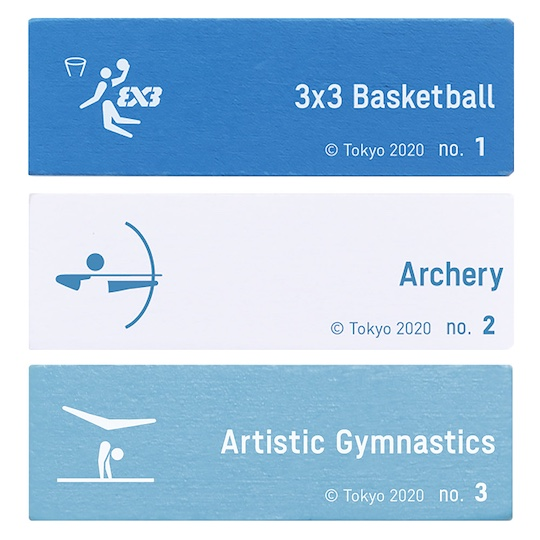 Tokyo 2020 Olympics Pictograms Balance Tower