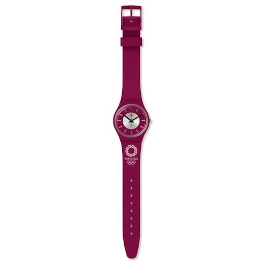 Tokyo 2020 Olympics Medaru Swatch Wristwatch