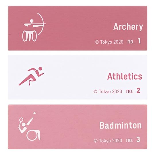Tokyo 2020 Paralympics Pictograms Balance Tower