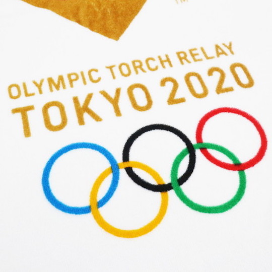 Tokyo 2020 Olympic Torch Relay Bath Towel
