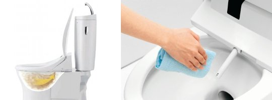 Toto Dusch-WC Hi-Tech Toilettensitz