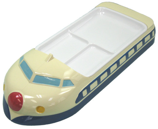 Blue Shinkansen Childrens Lunch Tray