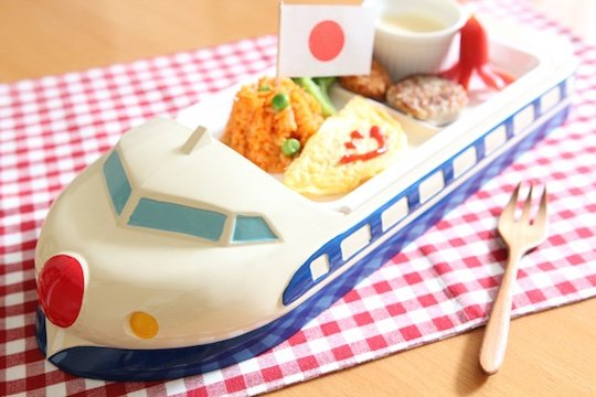 Blue Shinkansen Childrens Lunch Tray