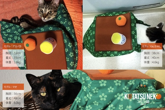Katatsu Mobile Kotatsu Cat Table