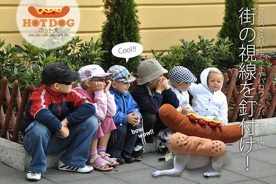 Hot Dog Pet Clothes