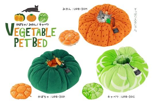 Vegetable Pet Bed