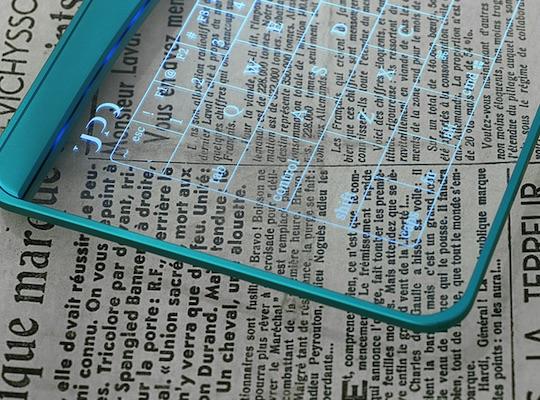 Q-gadget KB01 Touchpad Glass Keyboard