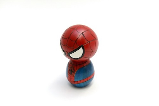 Usaburo Kokeshi Spiderman