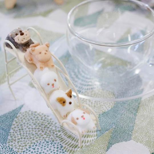 Kawaii Animal Sugar Cubes for Teatime