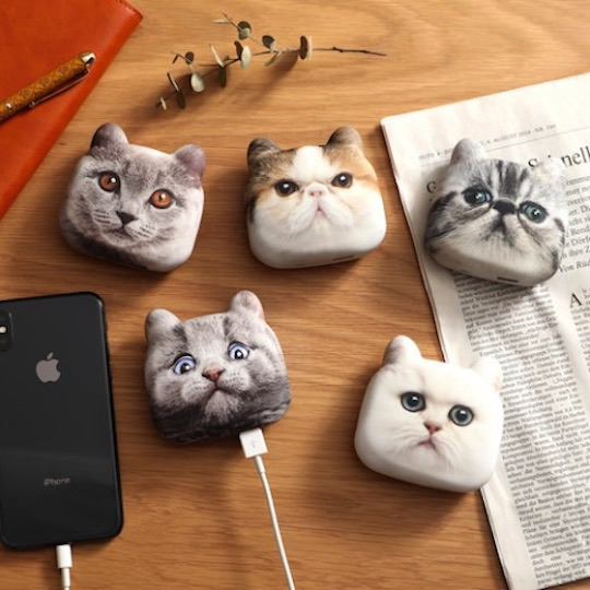 Nyanko Charge Cat Head Phone Charger