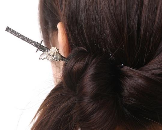 Wargo Nippon Samurai Sword Kanzashi Hairpin
