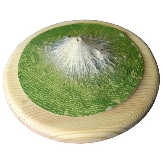 Yamatsumi Mount Fuji Realistic Papercraft Model