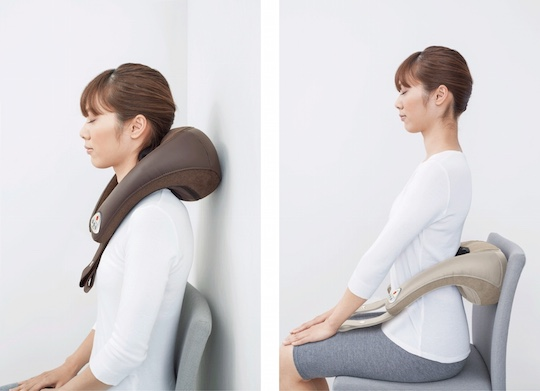 Yamazen Tolton Hybrid Hands-free Home Massager