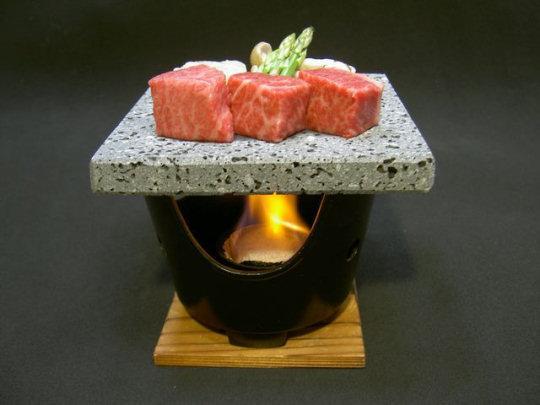 Utage Mt Fuji Lava Stone Grill