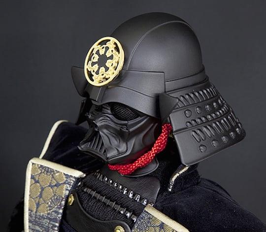 Darth Vader Samurai Warrior Doll