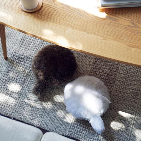 Petit Qoobo Robotic Cat Tail Pillow