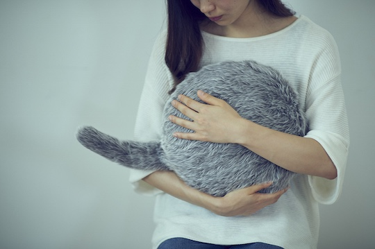 Qoobo Robotic Cat Tail Pillow