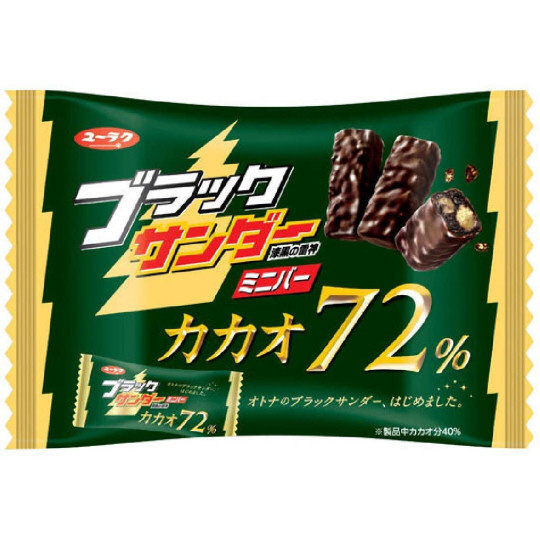 Black Thunder Cocoa 72% Mini Bars