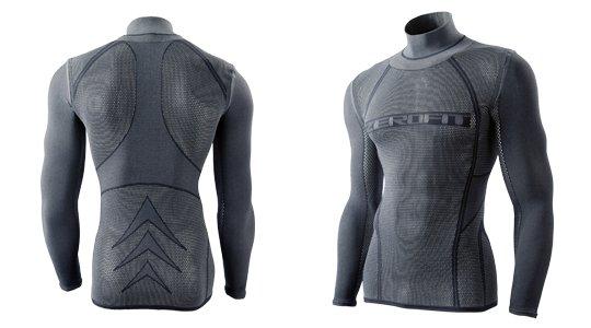 Zerofit 500 Mesh Mockneck Long Sleeve Underwear