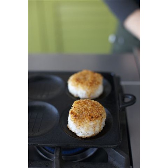 Yaki-Onigiri Grilled Rice Ball Maker Iron Plate