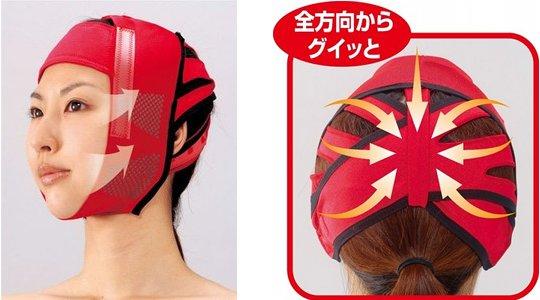 Pin Up! Gesichtsstützmaske