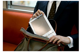 FLEPia E-Book reader from Fujitsu