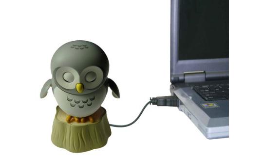 USB Owl Computer Accessory
