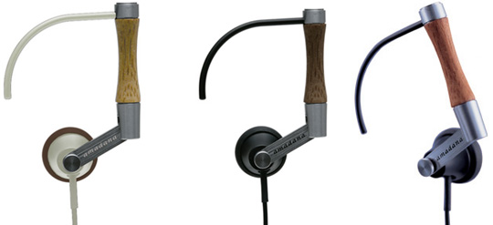 Amadana PE-117 bamboo headphones - Japan Trend Shop