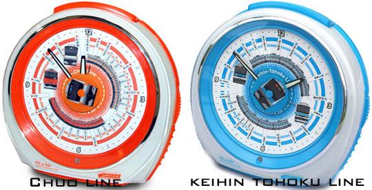 Tokyo Train Melody alarm clock series