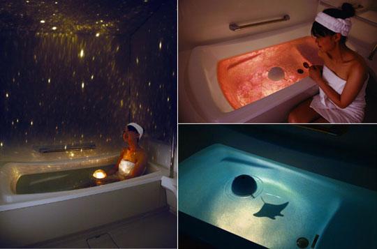 Homestar Spa bath planetarium from Sega Toys
