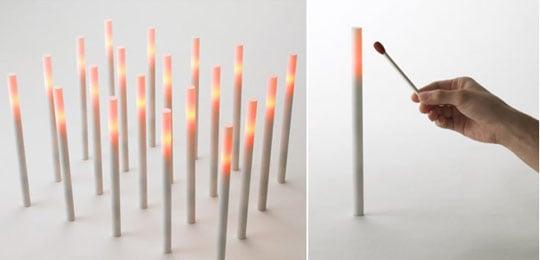 Hono Electric Candle Led Light Japan Trend Shop