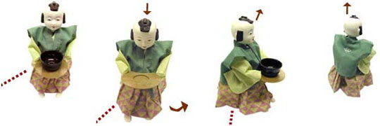 Karakuri Tea Serving Robot - Gakken