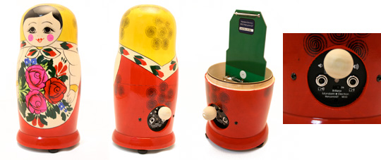 Matryomin Theremin in Matryoshka