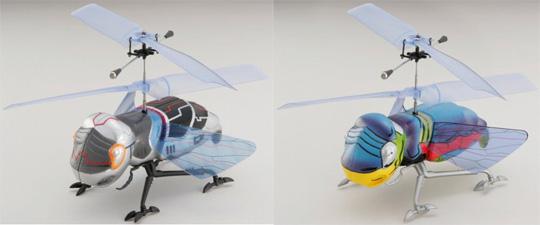 Mecha Mushi bug helicopter by Taiyo