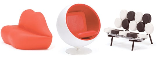 Japan Trend Shop Mini Designer Chair Collection Vol 4