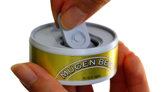 Mugen Beer Infinite Beer Can