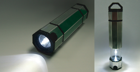 NoPoPo Eco Water-Powered Flashlight Set