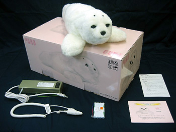 Paro Robot Seal Healing Pet