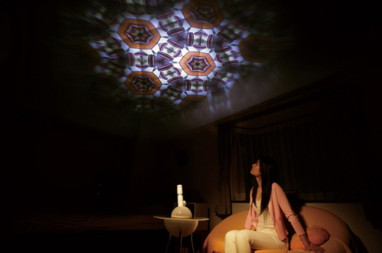 Lampe kaleidoscope