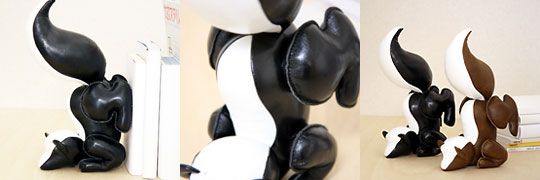 Skunk Bookend
