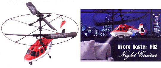 Micromaster HG2 Night Cruiser helicopter