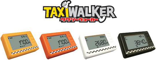 Taxi Zähler Pedometer