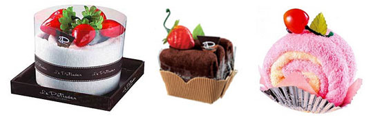 Towel Cake Set from Le Patissier