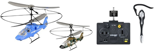 Voice Command Heli R/C Helicopter